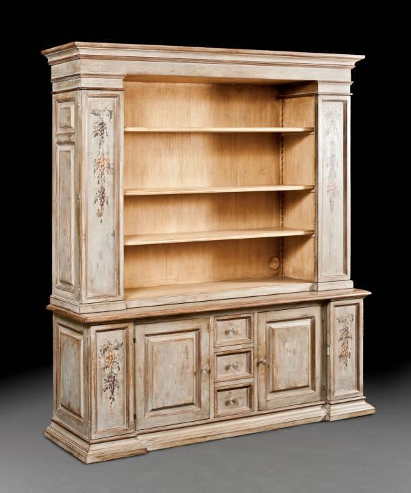 PM-4028 Bookcase / TV Cabinet