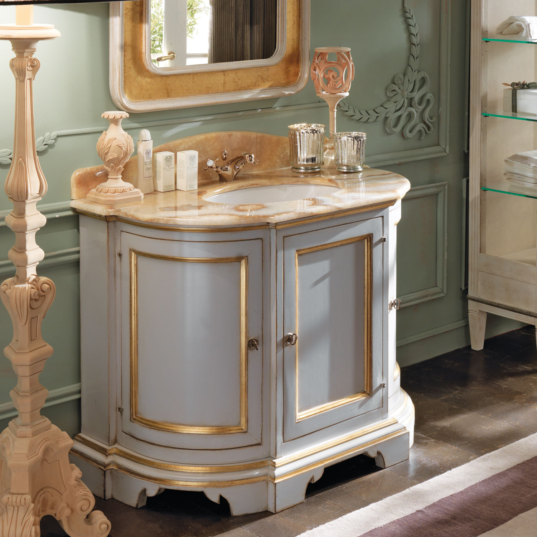 Gr 1083 Hand Painted Vanity David Michael Furniture