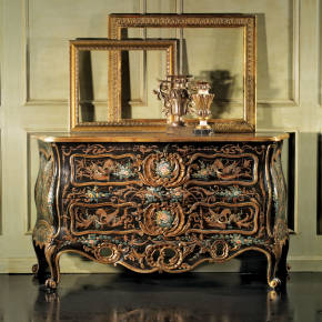 GR-1138 Ornate Bombay Chest