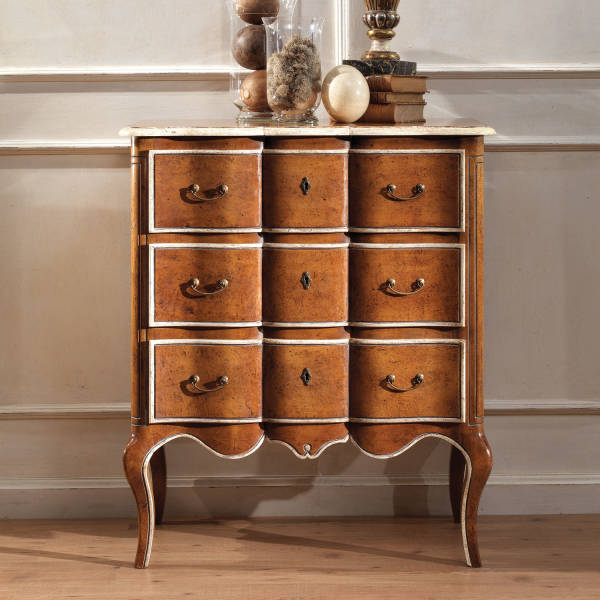 GR-1147 French Chest w/ Citronnier Finish
