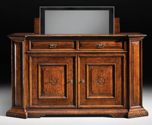 GV-605-TV Sideboard w/ Remote TV Lift
