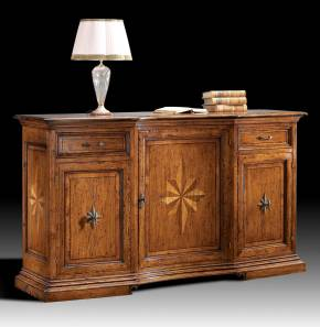 GV-810 Sideboard w/ Starburst Inlay