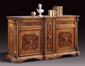 GV-811-B Sideboard with Center Vertical Drawer
