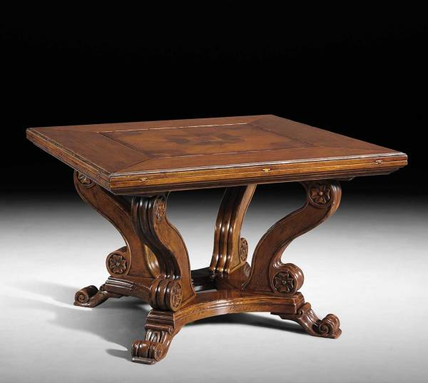 GV-833 Folding Square to Octagonal Table