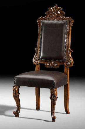 GV-93-CL Side Chair - Leather