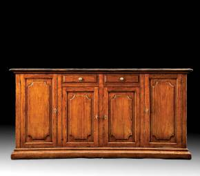 B-36 Concave Shaped Sideboard