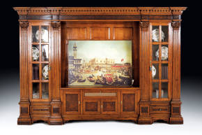 FM-126 Media Center Wall Unit