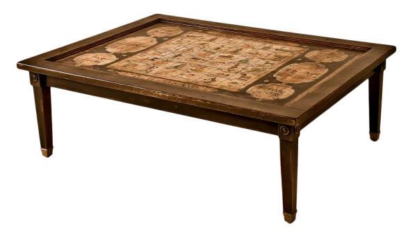 PM-3227 Coffee Table w/ Biribissi Game Top