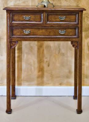BIC-12 English Chippendale Style Hall Table