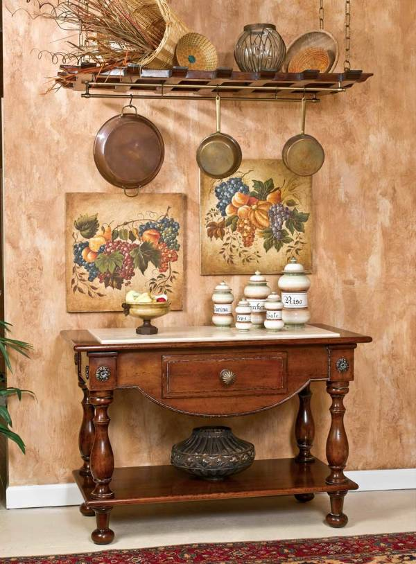 B-20 Island Sideboard with One Drawer