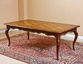 B-15 Rectangular Table w/ Cabriole Legs