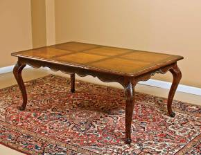 B-14 Rectangular Table w/ Cabriole Legs