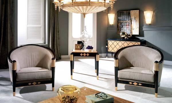 TM-01-1 Makassar Ebony Lounge Chair