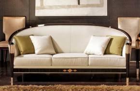 TM-01-3 Makassar Ebony Sofa