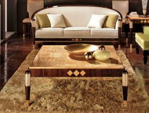 TM-4040 Makassar Ebony Coffee Table