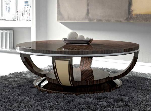 TM-4072 Makassar Ebony Coffee Table
