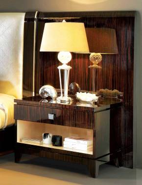 TM-5201 Makassar Ebony Night Stand