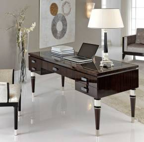TM-7001 Makassar Ebony Desk