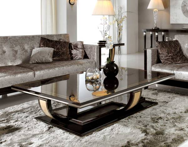 TM-4006 Makassar Ebony Coffee Table