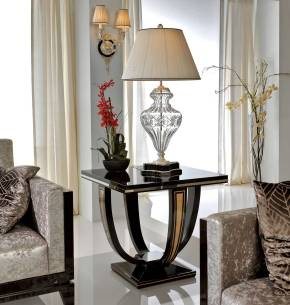 TM-4003 Makassar Ebony Side Table
