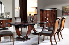 TM-100 Bohemian Rosewood Dining Table