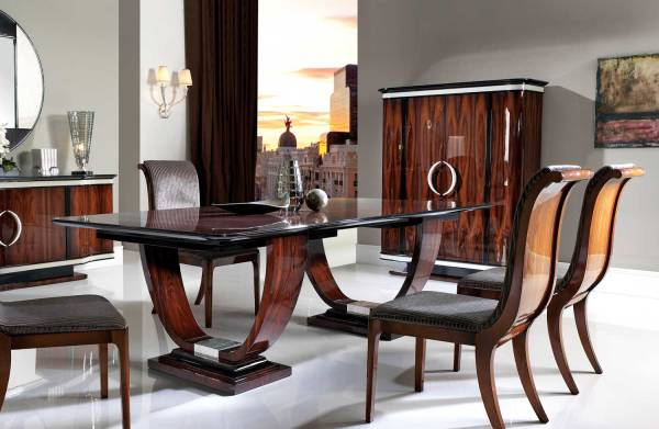 TM-100 Bohemian Rosewood Dining Table