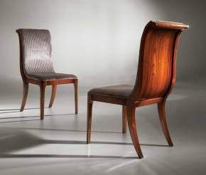TM-200 Bohemian Rosewood Side Chair