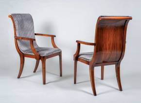 TM-201 Bohemian Rosewood Arm Chair