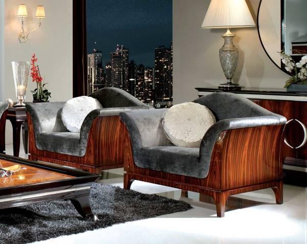 TM-04-1 Bohemian Rosewood Lounge Chair