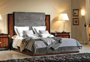 TM-5000 Bohemian Rosewood King Size Bed