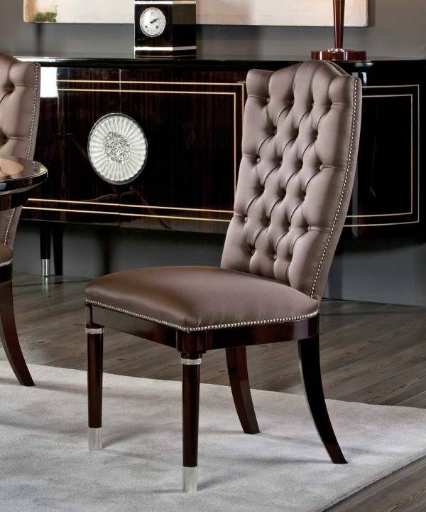 TM-300 Makassar Ebony Side Chair