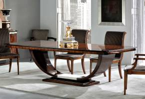 TM-100-1E Bohemian Rosewood Dining Table