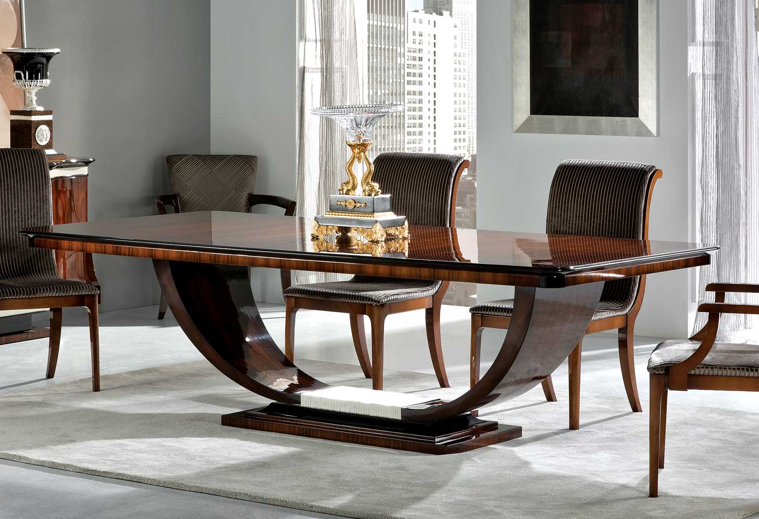 Tm 100 1e Bohemian Rosewood Dining Table David Michael