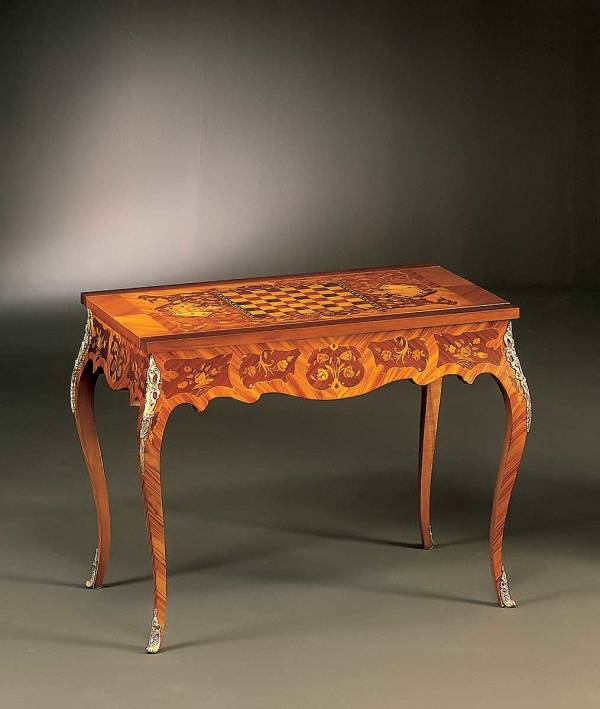 BN-523 Louis XVI Game Table