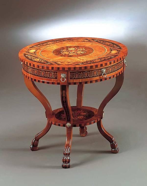 BN-398 Maggiolini Round Lamp Table