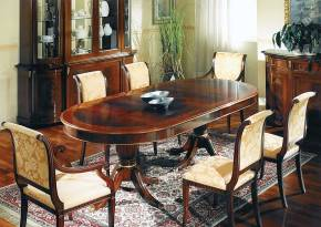 DM-A359 English Style Dining Table