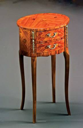 PL-23 Louis XVI Rosewood Table