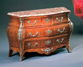 PL-57 Louis XV Bombay Chest