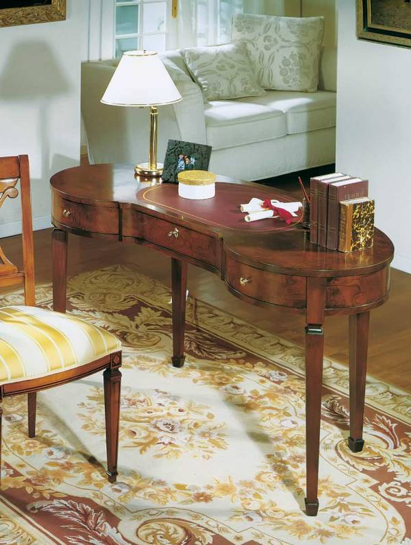 VG-1235 Kidney Shape Writing Table