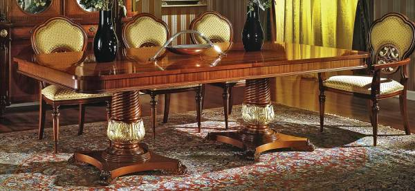 DM-A648 English Style Dining Table