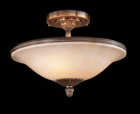 M-19011 Alabaster Ceiling Fixture