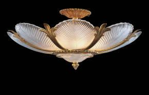 M-19401 Venetian Glass Ceiling Fixture