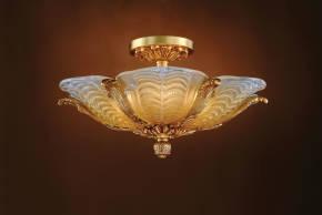 M-19495 Venetian Glass Ceiling Fixture