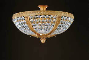 M-19602-SE Crystal Ceiling Fixture