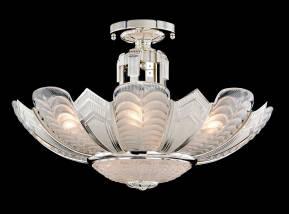 M-19963 Venetian Glass Ceiling Fixture
