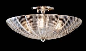M-19990 Venetian Glass Ceiling Fixture