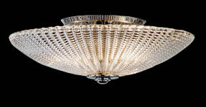 M-19992 Venetian Glass Ceiling Fixture