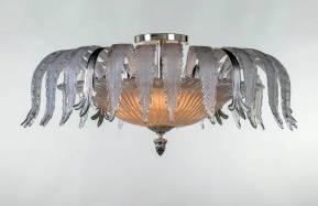 M-20076-1 Venetian Glass Ceiling Fixture