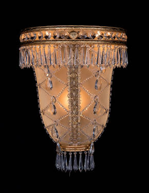 M-20102 Crystal Wall Sconce