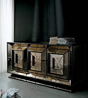AV-01003 Mirrored Cupboard